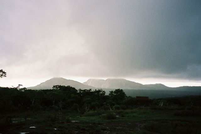 mutinondo wilderness in rain
