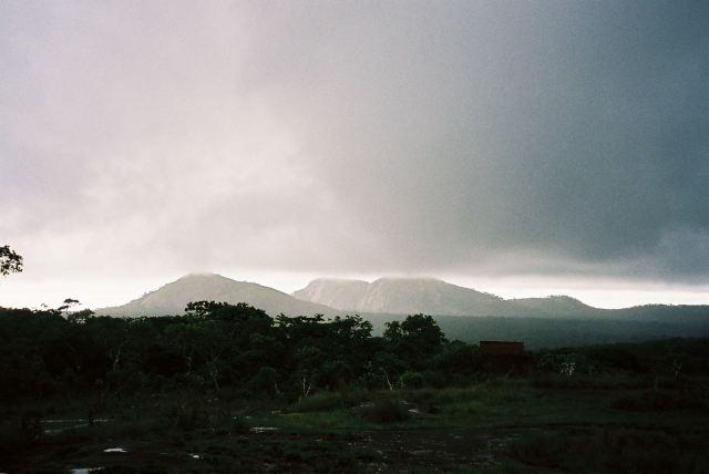 mutinondo wilderness in rain
