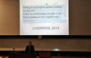 All you need is Beatles - 10th Conference on Hunting & Gathering Societies, Liverpool 2013