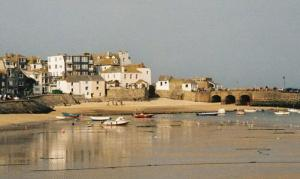 Harbour, St Ives, Cornwall. Barbara Hepworth moved to St Ives during World War II and stayed
