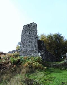 Part of a gatehouse