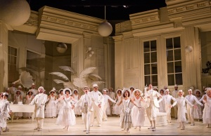 The cast resplendent on stage (photo ENO web page 2015)