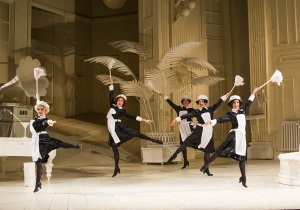 The maids being exuberant (photo ENO web page 2015)