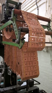 Punch cards - a weaving loom that's a computer