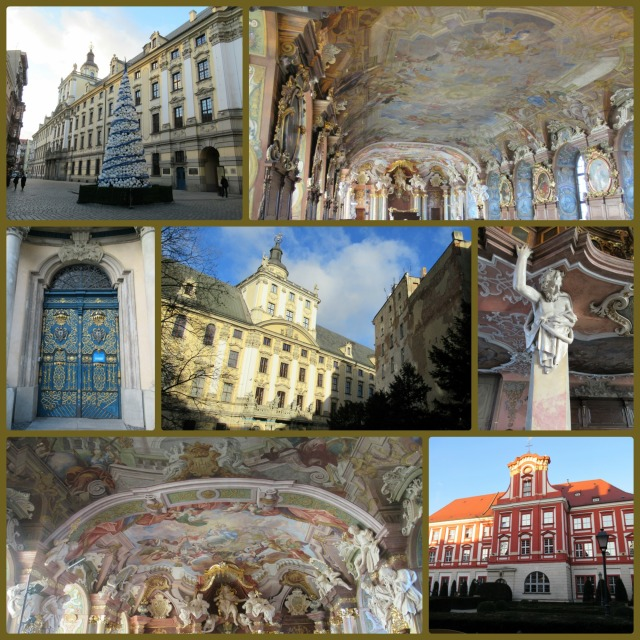 University architecture and art – I have learned I really don't like baroque style but it is impressive